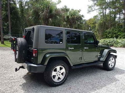 Jeep Wrangler Unlimited Towing Purchase Used 2008 Jeep Wrangler Unlimited 4x4 Rv