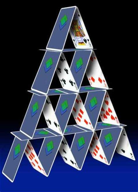 how to make house of cards castillos de naipes el pito doble