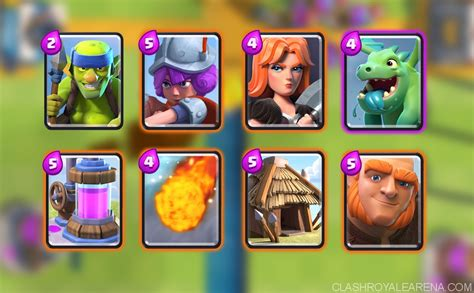 arena deck clash royale arena 6 deck f2p deck which got me to 2300