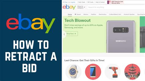 ebay bid how to cancel or retract a bid on ebay free tutorial at