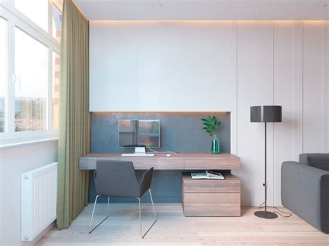 Study Office Design Ideas 5 Ideas For A One Bedroom Apartment With Study Includes Floor Plans