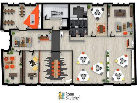 3d office layout design software office floor plans roomsketcher