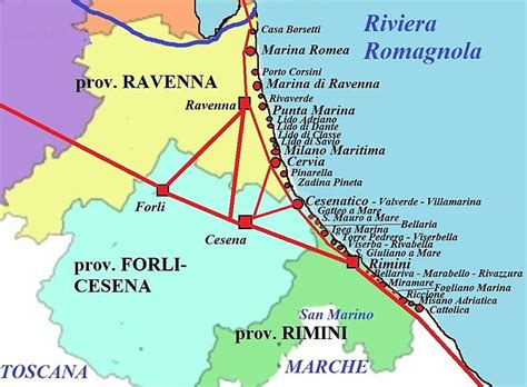 elenco bagni marina di ravenna riviera romagnola