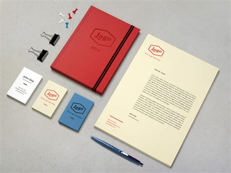 Business Letter Mockup identity branding mockup vol 3 graphicburger