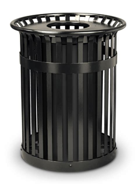 flare top trash can with flat top lid belson products