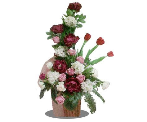 Promo Bunga Artificialflower Buket Bunga Plastik Artificial Pot 2 buket meja artificial bibma 6 toko bunga jawa tengah