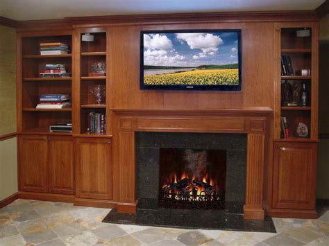 planning ideas library bookcase plans with fireplace