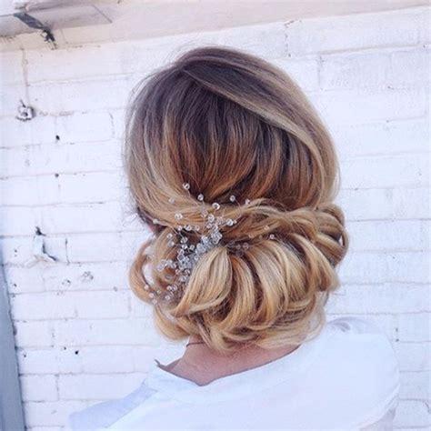 Wedding Hairstyles Side Chignon by Braided Chignon Brides