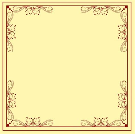 decorative border template classical symmetric repeating