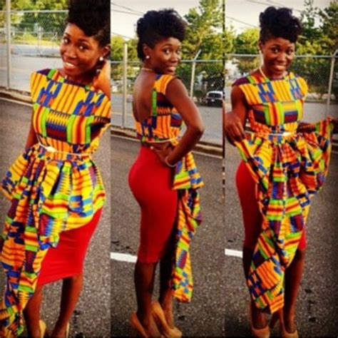 ghana fashion on pinterest ankara designs africa kente cloth ghana kente dress styles dezango fashion