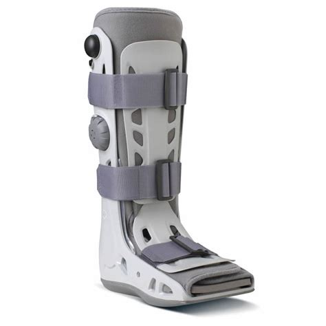 fractured ankle boot aircast airselect walker boot walking brace ankle fracture