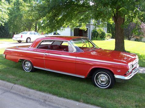 62 impala for sale 1962 62 chevrolet impala sport ss for sale