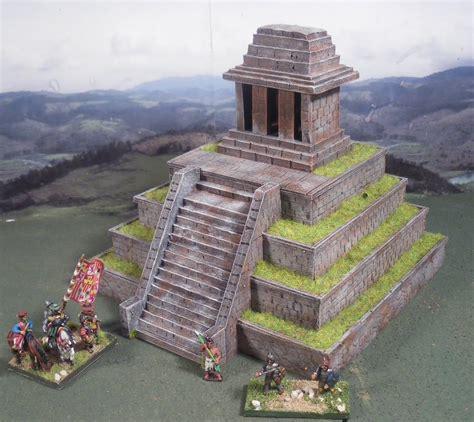 imagenes de templos aztecas jlpmaquetas templo azteca