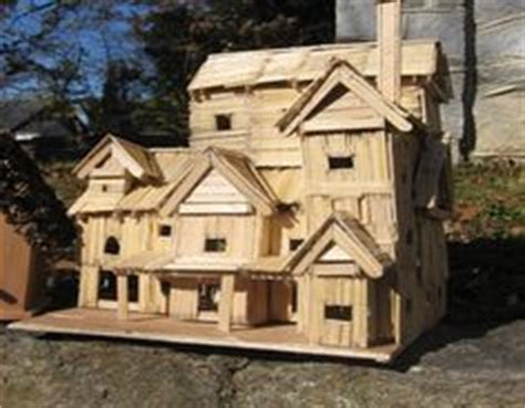 toothpick house 1000 images about precise toothpick art on pinterest