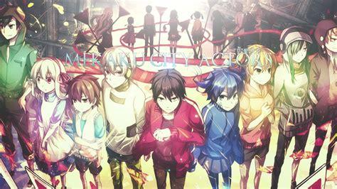 wallpaper anime mekakucity actors mekakucity actors wallpaper by totoro gx on deviantart