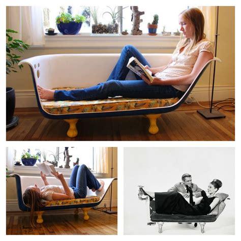 clawfoot bathtub couch diy clawfoot bathtub couch
