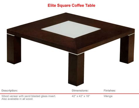 Elite Exclusive Coffee Tables Exclusive Coffee Tables