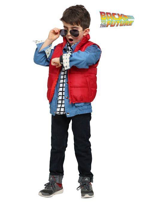 halloween costumes back to the future marty mcfly costume for toddlers