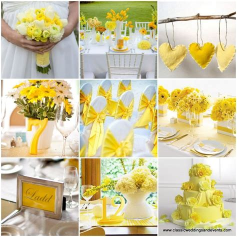 themes for the colour yellow 17 best images about yellow wedding decor on pinterest