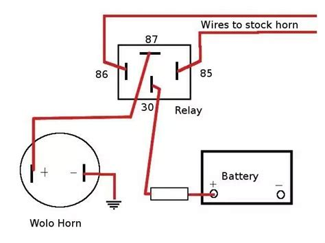kleinn air horn wiring diagram 30 wiring diagram images