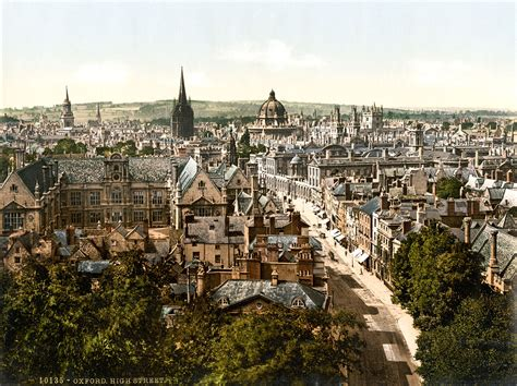 Of Oxford by File High Oxford 1890s Jpg