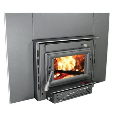 1 800 sq ft wood burning fireplace insert with epa certified