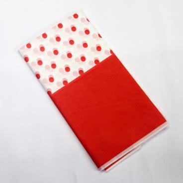 Dasi Kupu Kupu Polkadot Wrn Merah taplak meja merah pestaseru toko grosir