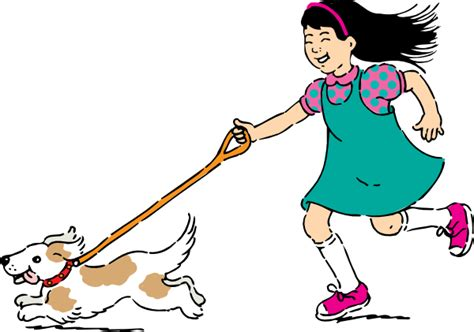 how far to walk a puppy walking clip free vector 4vector