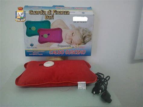 cuscino riscaldante foto cuscini riscaldanti cinesi quot cancerogeni quot sequestrati
