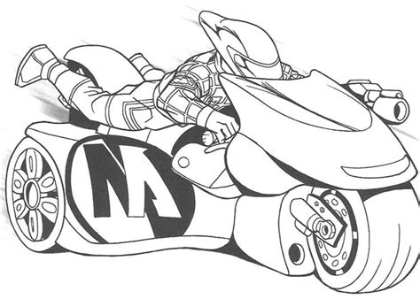 coloring book pages motorcycle drive sport motorcycle coloring page