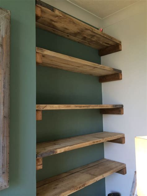 15 Best Ideas About Alcove Shelving On Pinterest Alcove Wood Plank Shelves