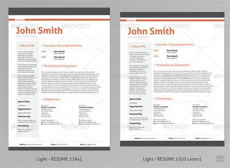 professional looking resume template layout design images gallery category page 5 designtos