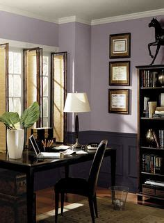 benjamin paint colors purple home office ideas striking modern purple home office