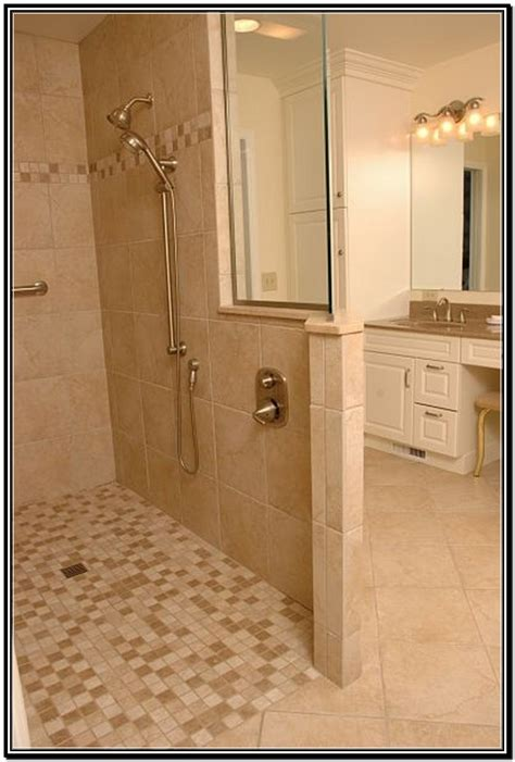 Shower Doors For Walk In Showers Tile Showers Without Doors Tile Walk In Showers Without