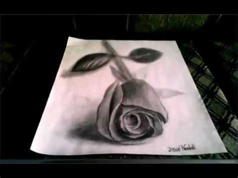 Imagenes De Rosas En 3d A Lapiz | 3d drawing dibujos 3d a lapiz youtube