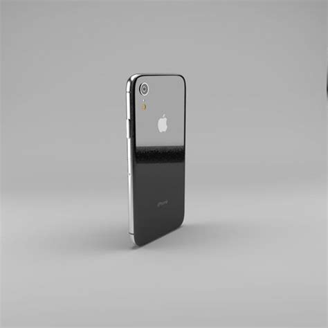 apple iphone xr 3d model cgtrader