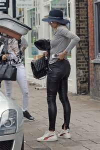 lilly becker seen while out shopping leather celebrities