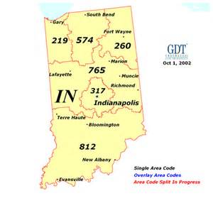area codes in map index of state area code maps