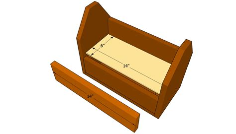How To Make A Tool Box Out Of Paper - free wood tool box plans woodworking projects