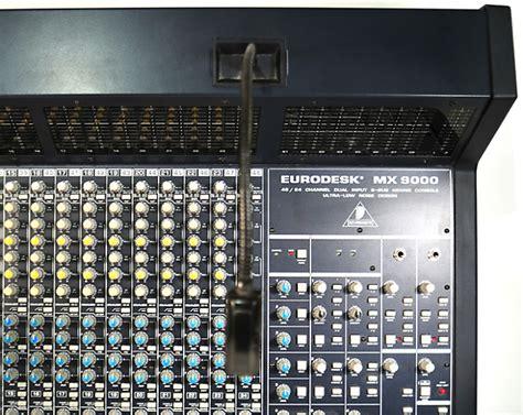 Mixer Behringer Mx 9000 behringer eurodesk mx 9000 48 24 channel dual input 8