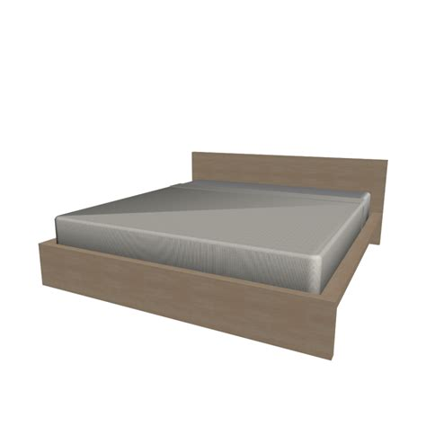 ikea bed malm malm bed frame 180x200cm design and decorate your room in 3d