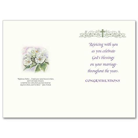 Wedding Blessing Verses For Cards by Blessings On Your Wedding Anniversary General Wedding