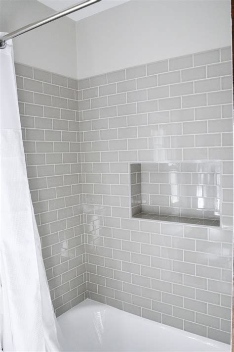 subway tile bathroom shower facts about subway tile bathroom