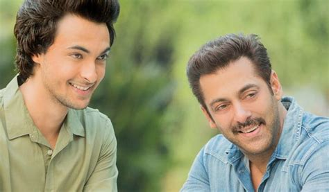 film bollywood lawas salman khan to launch brother in law aayush sharma in a