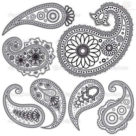 paisley henna tattoo paisley pattern images designs