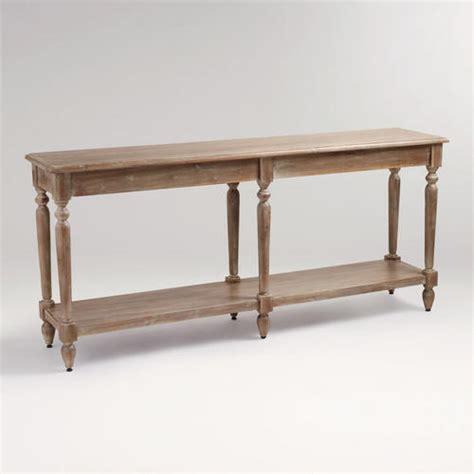 restoration hardware sofa table copy cat chic wisteria wooden european console