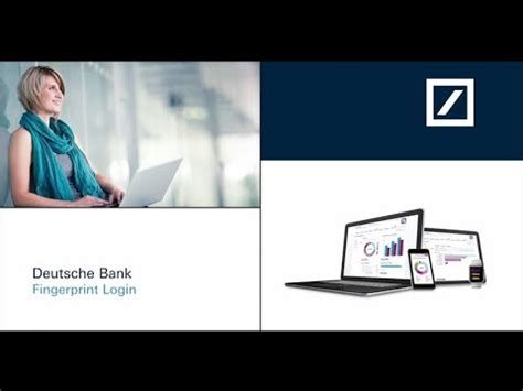 deutsche bank fingerprint deutsche bank fingerprint login