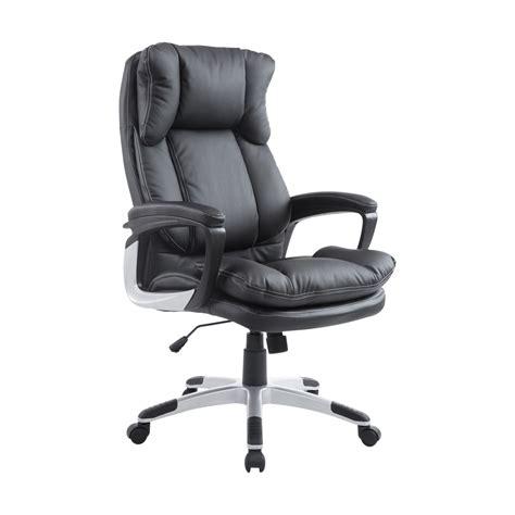 poltrone da ufficio homcom poltrona da ufficio ergonomica reclinabile in