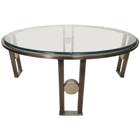Coffee Table Glass Top Glass Top Coffee Table At 1stdibs
