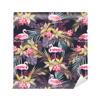tropical pattern png tropical summer seamless pattern with flamingo birds and